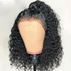 Pre Pucked Deep Wave Human Hair Wig  | Curly Human Hair Lace Wig | 13*4 |13*6 Sivolla Hair Wig