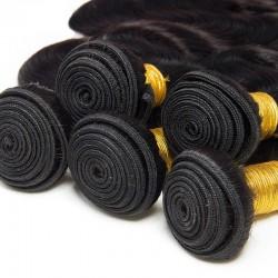 2 Bundle Deals Body Wave Original Natural Remy Human Hair Weave 8A Virgin Raw Hair