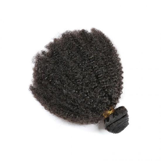Wholesale Afro Kinky Curly Brazilian Human Hair 9A Virgin Human Hair Bundles