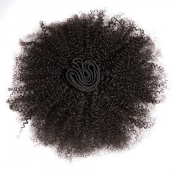 Wholesale Afro Kinky Curly Brazilian Human Hair 9A Virgin Human Hair Bundles