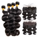 4 Bundles with Frontal 13x4