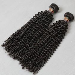 "2Pcs/Lot Hot selling Dark Brown&Natural Color Virgin 9A Burmese kinky curly hair 200g 8""-30"" wholesale flawless Sivolla Hair weave in STOCK"