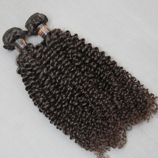 1 Bundle Sales Burmese Jerry Curly Natural Human Hair Pieces 100Gram and NO shedding,tangle free and unprocessed