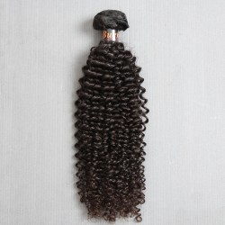 1 Bundle Sales Burmese Jerry Curly Natural Human Hair Pieces 100Gram and NO shedding tangle free and unprocessed