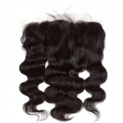 Sivolla 13X6 Lace Frontal Closure Body Wave/Straight/Deep Wave 100% Human Hair