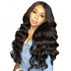 Breathable Body Wave Human Hair Full Lace Wig with Natural Hairline Baby Hair | Sivolla Hair