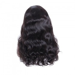 Raw Natural Hair Body Wave Full Lace Wig with Baby Hair Free Shipping | Sivolla Hair