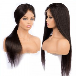 Undetectable Invisible Lace Straight Raw Virgin Hair Full Lace Wig | Sivolla Hair
