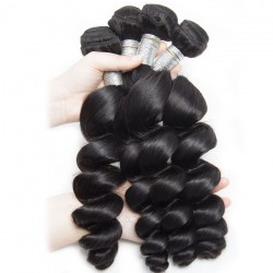 10Pcs Loose Wave Hair Texture 100% Unprocessed Natural Human Hair Bundle Wholesale Price