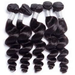10Pcs Loose Wave Hair Texture 100% Unprocessed Natural Human Hair Bundle Wholesale Price
