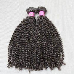 "2 Bundle deals Raw SivollaHair Peruvian Unprocessed Virgin Human Hair 8""-30"" Kinky Curly wefts Cuticles Aligned Natural Color Premium Quality Hair"