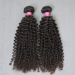 2 Pcs/lot Thick 200g 9A Unprocessed Raw Peruvian Virgin human hair Jerry Curly 100% Unprocessed Raw Hair weave SivollaHair