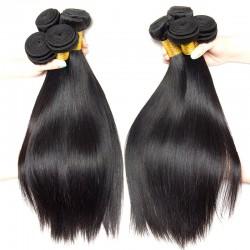 2Pcs Premium 9A Virgin Weave Straight Peruvian Straight RAW Hair Affordable Hair Extension Long Locks Beauty Hair Fast Ship