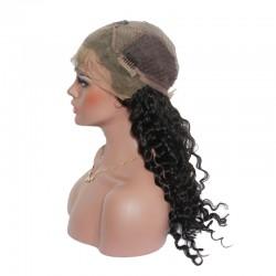 Natural Original Human Hair Lace Frontal Wig Deep Wave Wigtypes American Idol Black Women's Luster Luxury Human Hair Wig