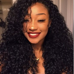 Perfect Match Original Human Hair Wig Free Shipping Affordable Kinky Curly Lace Frontal Human Hair Wigs Kinky Curls 10A Human Hair Full Cuticle Lasting