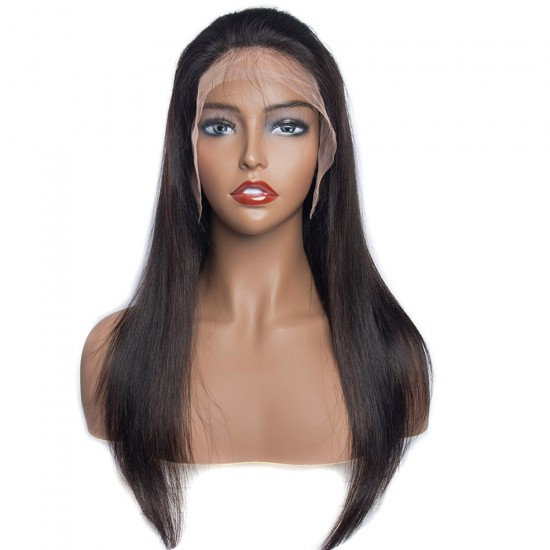 13X6 Straight Lace Frontal Wig