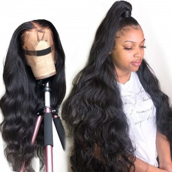 13X6 Lace Frontal Human Wig Body Wave with Natural Hairline Baby Hair Density 150% &180% Wig Sivolla