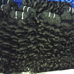 10Pcs Wholesale Price Grade 10A Cambodian Romantic Curly Hair Weave Italian Curls 10Bundles Deal Factory Directly Price