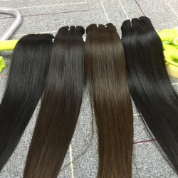 Luster 4PCS Silky Straight 10A Natural Cambodian Original Hair Best Quality Weave Raw Virgin Unprocessed Natural HAIR 4 Piece deal