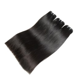 10Pcs Wholesale Price Grade 10A Cambodian Straight Mink Natural RAW Human Hair Weft
