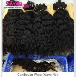 Wholesale Price 10pcs Grade 10A Water Wave Hair 10Bundle Deals Natural Original Authentic Human Hair Drop Shipping