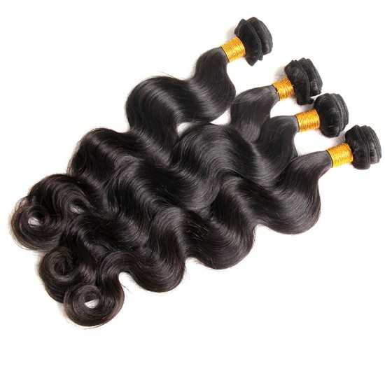 Free Shipping Cambodian Original Human Hair Body Wave 3 Bundle Deals NATURAL Human Hair Extensions All Cuticle Aligned 100 Virgin Human Hair
