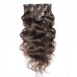 Body Wave Clip In Human Hair Extensions 120g/pack 100% REMY Hair| Sivolla Hair