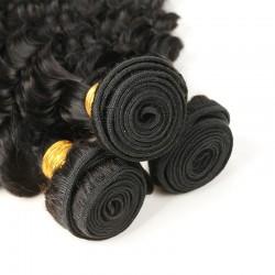 4 bundle Deals 400g African American Deep Wave Sew in Wavy Curls 9A Indian human hair weaves Gorgeous Virgin Hair Diamond Virgin Hair