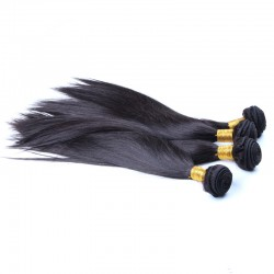 2 Bundle DEALS Glory of Beauty Best Weave 9A Indian Virgin Hair Bouncy Straight 2pcs/lot Double Stitched Wefts