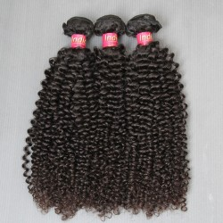 3Pcs/Lot 2019 New Brand 100% Pure 9A Grade Natural Jerry Curly Unprocessed Virgin indian Human Hairs Raw Beauty Star