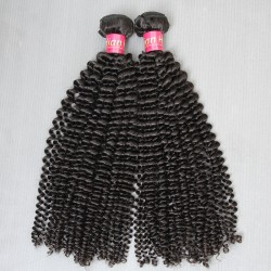 2 Bundle deals 9A New Brand SivollaHair Natural Indian Virgin Kinky Curly Hair Wefts 2pcs a lot human hair Tight Curls Beautyforever