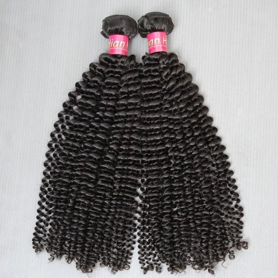 2 Bundle deals 9A New Brand SivollaHair Natural Indian Virgin Kinky Curly Hair Wefts 2pcs a lot human hair Tight Curls Beautyforever