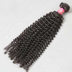 1Bundle Sales Genuine Virgin 9A Indian Kinky Curly Raw Hair Weave 100% Human Hair Weave Beauty Products Klaiyi